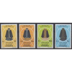 Ethiopia - 1992 - Nb 1320/1323 - Costumes - Uniforms - Fashion