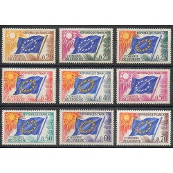 France - Official stamps - 1963 - Nb 27/35