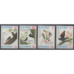 Ethiopia - 1993 - Nb 1350/1353 - Birds