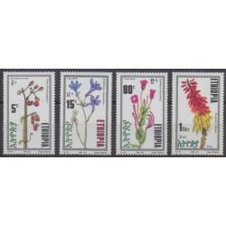 Éthiopie - 1992 - No 1324/1327 - Fleurs