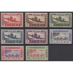 Niger - 1942 - Nb PA10/PA17