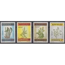 Éthiopie - 1986 - No 1149/1152 - Flore