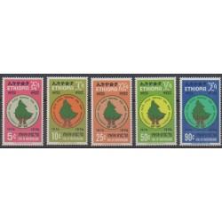 Ethiopia - 1975 - Nb 748/752