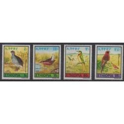 Ethiopia - 1985 - Nb 1115/1118 - Birds