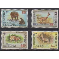 Ethiopia - 1985 - Nb 1119/1122 - Mamals