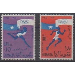 Somalia - 1960 - Nb PA5/PA6 - Summer Olympics