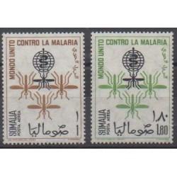 Somalia - 1962 - Nb PA18/PA19 - Health