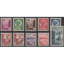 Morocco - 1951 - Nb 306/314