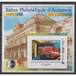 France - CNEP Sheets - 2019 - Nb CNEP 81 - Trains