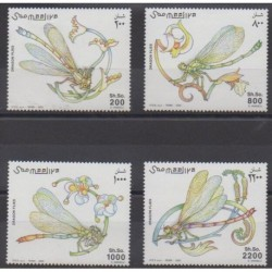 Somalie - 2003 - No 896/899 - Insectes