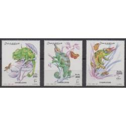 Somalie - 2001 - No 755/757 - Reptiles