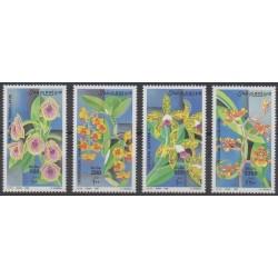 Somalie - 1999 - No 657/660 - Orchidées