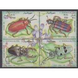 Somalie - 1995 - No 487/490 - Insectes