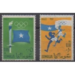 Somalie - 1960 - No 4/5 - Jeux Olympiques d'été