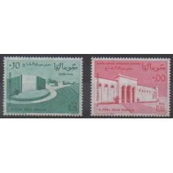 Somalia - 1963 - Nb 30/31 - Monuments