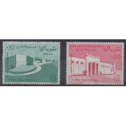 Somalie - 1963 - No 30/31 - Monuments