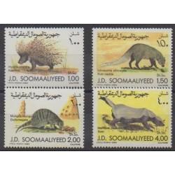 Somalie - 1984 - No 311/314 - Mammifères