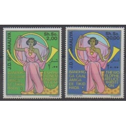 Somalie - 1985 - No 327/328 - Philatélie