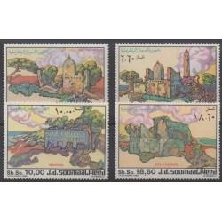 Somalia - 1985 - Nb 323/326 - Monuments