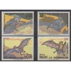 Somalie - 1985 - No 329/332 - Mammifères