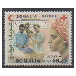 Somalie - 1987 - No 347 - Santé ou Croix-Rouge