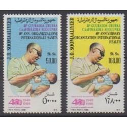Somalie - 1988 - No 356/357 - Santé ou Croix-Rouge