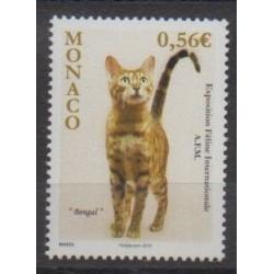 Monaco - 2009 - Nb 2714 - Cats
