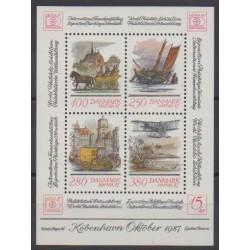 Danemark - 1986 - No BF6 - Philatélie