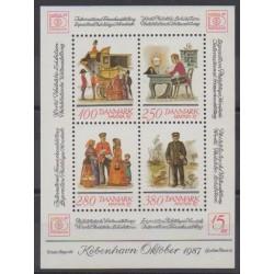 Danemark - 1986 - No BF7 - Philatélie - Service postal