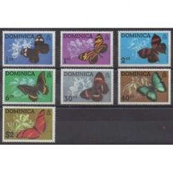Dominique - 1975 - No 420/426 - Insectes