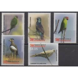 Micronesia - 2006 - Nb 1442/1446 - Birds