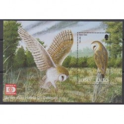 Jersey - 2001 - BF40 - Birds - Philately
