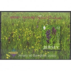 Jersey - 2003 - BF51 - Flowers - Philately