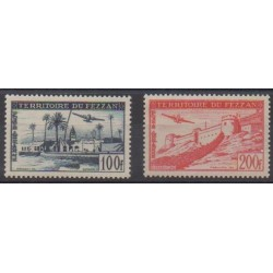 Fezzan - 1951 - Nb PA6/PA7