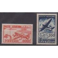 Fezzan - 1948 - Nb PA4/PA5
