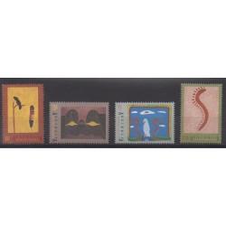 Australia - 1993 - Nb 1318/1321 - Paintings