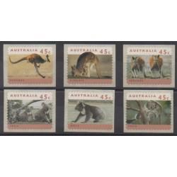Australia - 1994 - Nb 1368a/1373a - Mamals