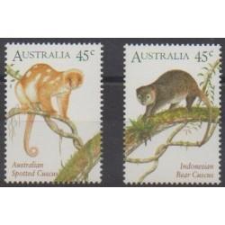 Australia - 1996 - Nb 1491/1492 - Mamals