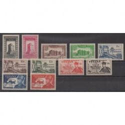 Fezzan - 1949 - Nb 43/53