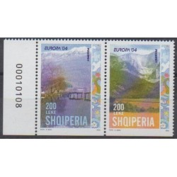 Albanie - 2004 - No 2703b/2704b - Sites - Europa