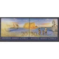Chypre - 2004 - No 1043a/1044a - Europa