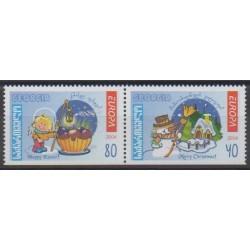Georgia - 2004 - Nb 357b/358b - Europa