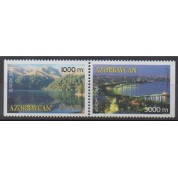 Azerbaijan - 2004 - Nb 489a/490a - Europa - Sights