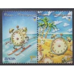 Bosnie-Herzégovine - 2004 - No 434a/435a - Europa