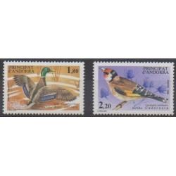 Andorre - 1985 - No 342/343 - Oiseaux