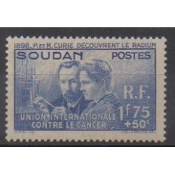 Soudan - 1938 - No 99 - Santé ou Croix-Rouge - Neuf avec charnière