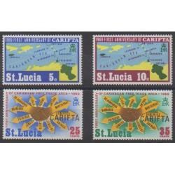 St. Lucia - 1969 - Nb 247/250