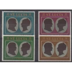 Sainte-Lucie - 1969 - No 251/254 - Napoléon