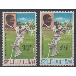 St. Lucia - 1968 - Nb 227/228 - Various sports