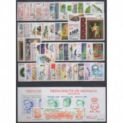 Monaco - Année complète - 2004 - No 2418/2478 - BF89/BF90